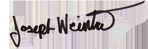 Joseph Weintraub Signature